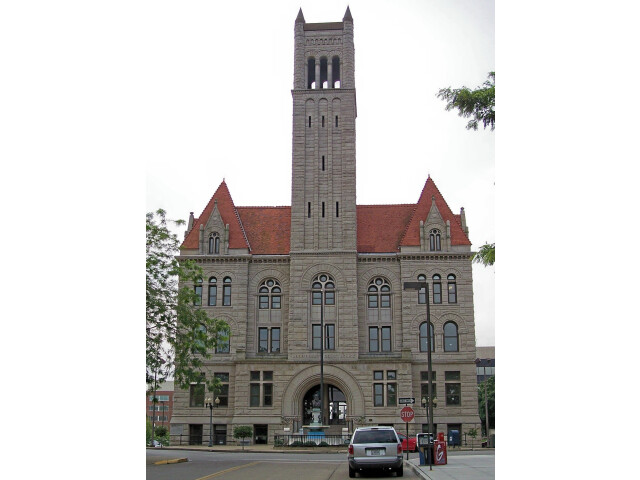 Wood County Courthouse Parkersburg West Virginia image