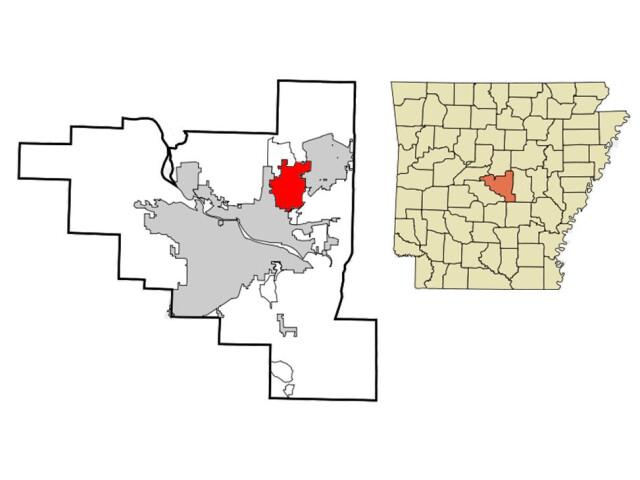 Sherwood locator map