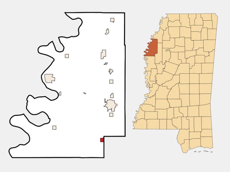 Shaw locator map
