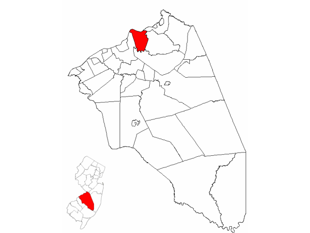 Florence locator map