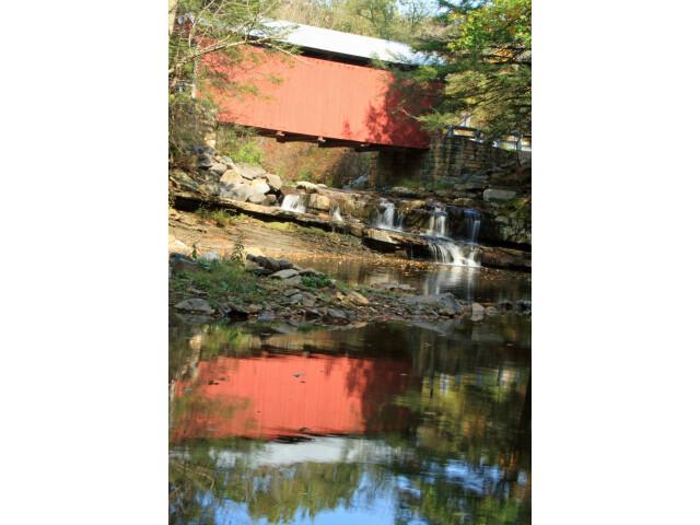 Packsaddle Covered Bridge image