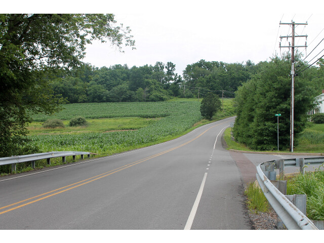 Road in Mahoning Township  Montour County  Pennsylvania image