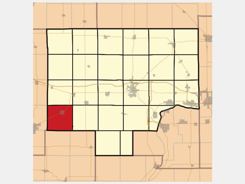 Neponset locator map