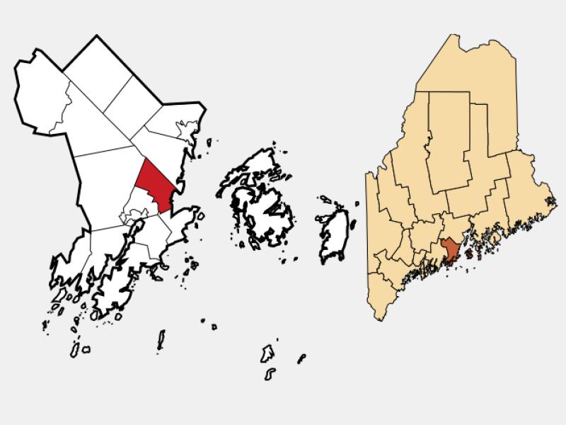 Rockland locator map