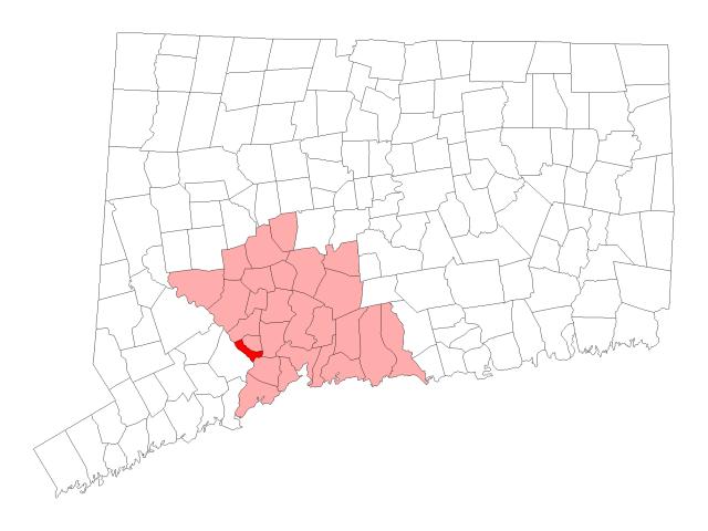 Derby locator map