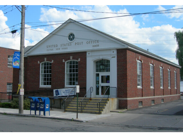 U.S. Post Office Clyde NY Jul 08 image