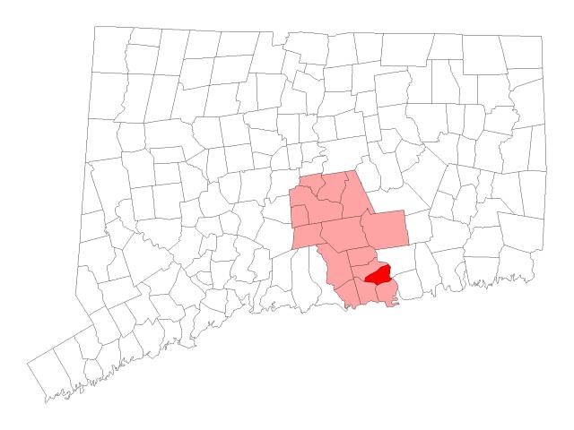 Essex locator map