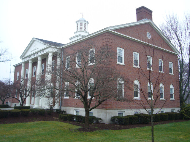Orange CT town hall image