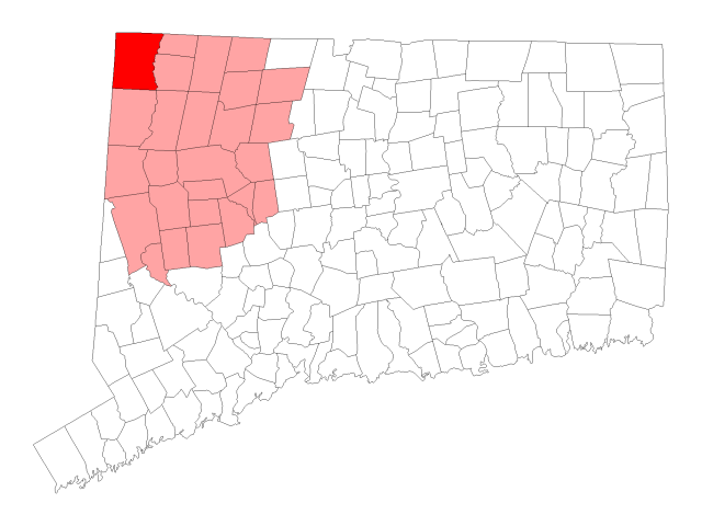 Salisbury locator map