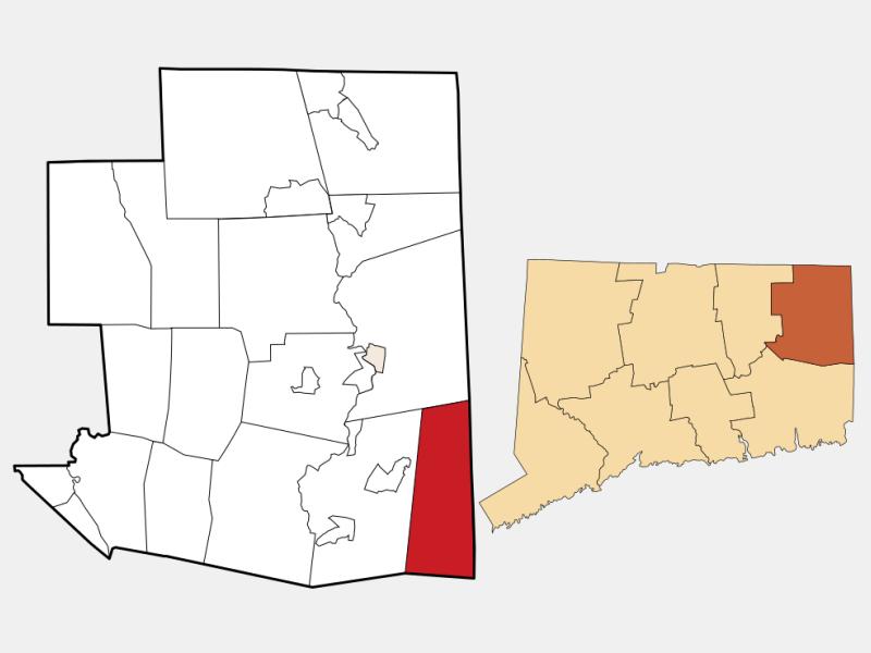 Sterling locator map