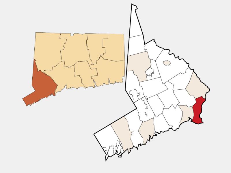 Stratford locator map