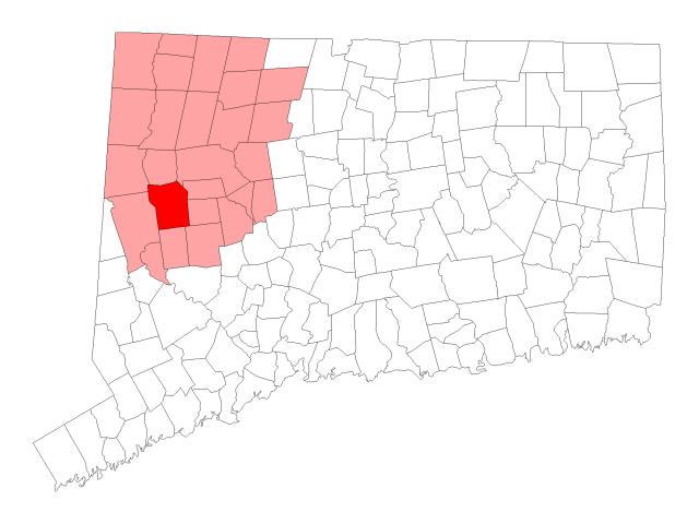 Washington locator map