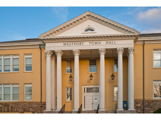 Westport Town Hall  Myrtle Avenue image