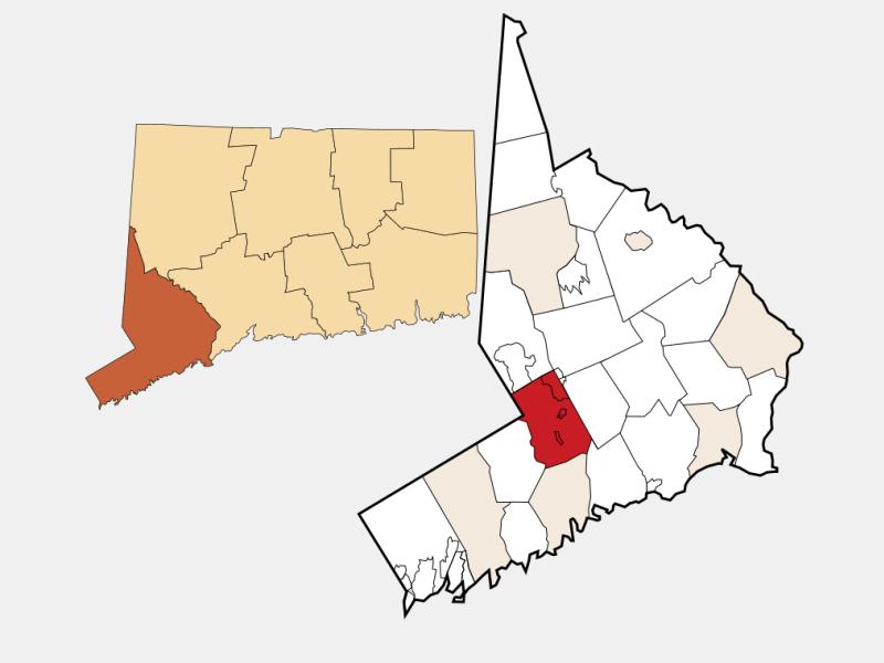 Wilton locator map