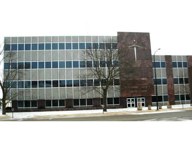 Black Hawk County Courthouse in Waterloo IA image