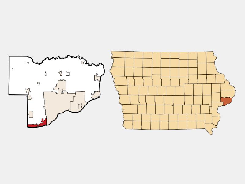 Buffalo locator map