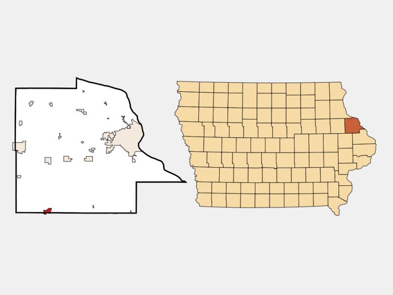 Cascade locator map