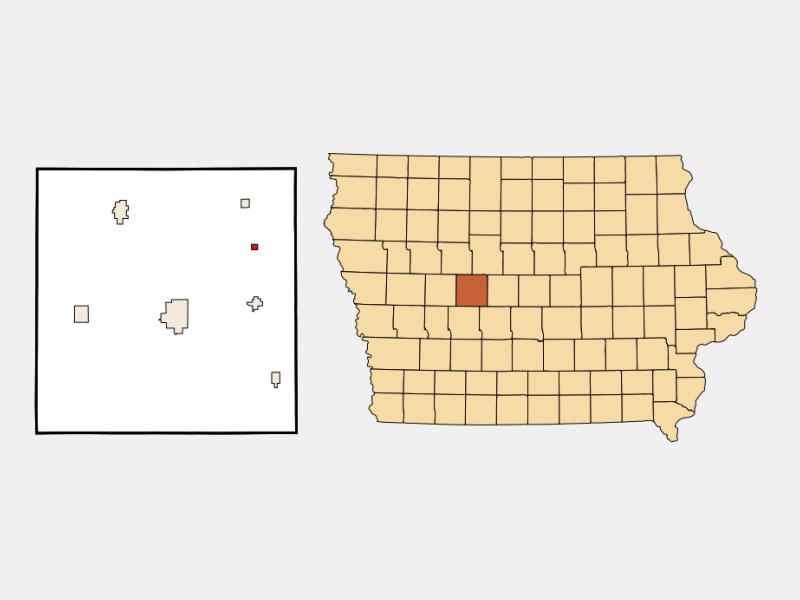 Dana locator map