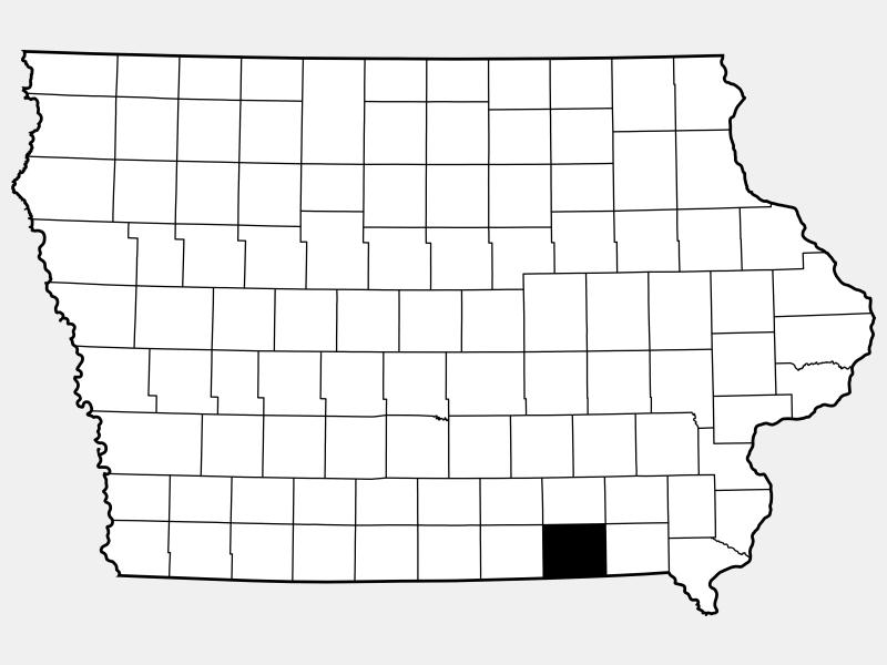 Davis County locator map