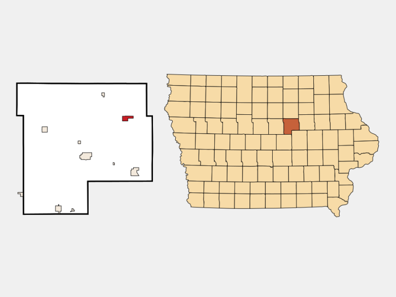 Dike locator map