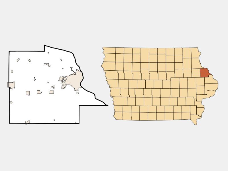 Durango locator map
