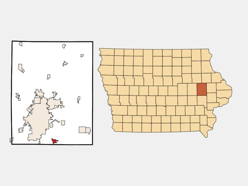Ely locator map