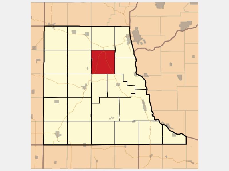 Farmersburg locator map