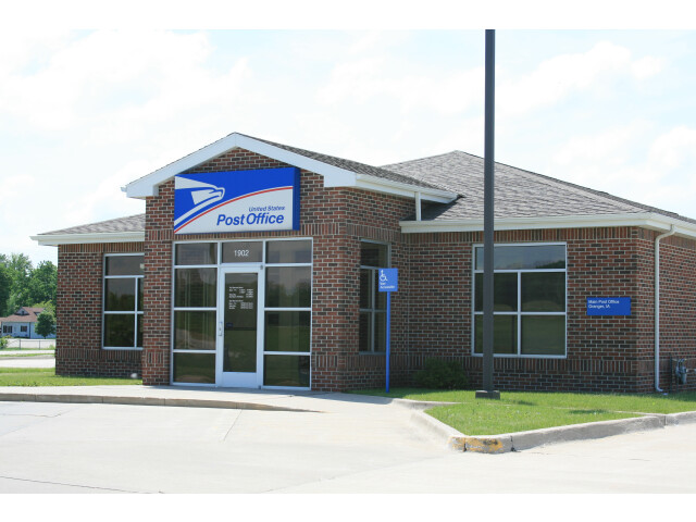 Granger Iowa 20090607 Post Office image