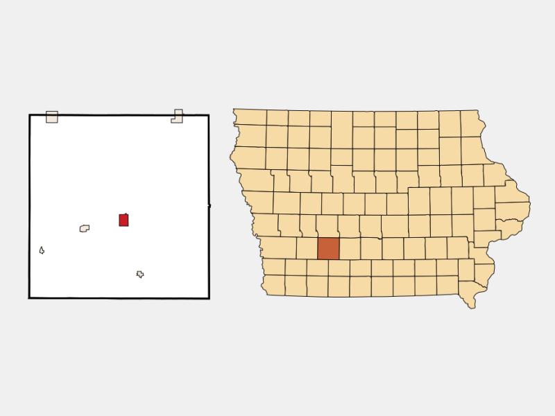 Greenfield locator map