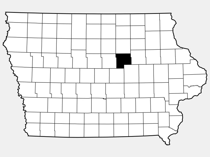 Grundy County locator map