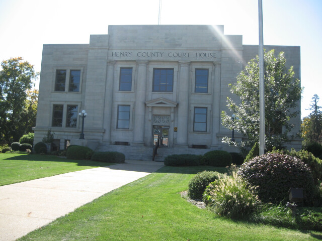 Henry county courthouse iowa image