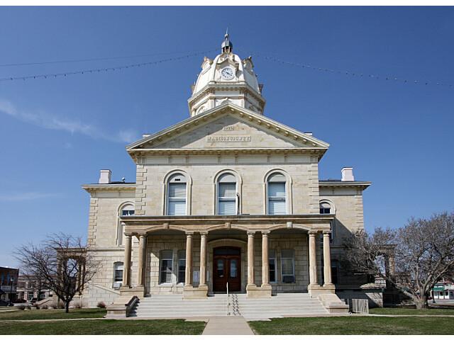 Madison County  Iowa Courthouse image