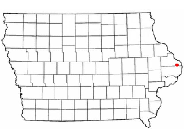 Miles locator map