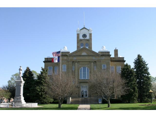 Monroe County  Iowa Courthouse image