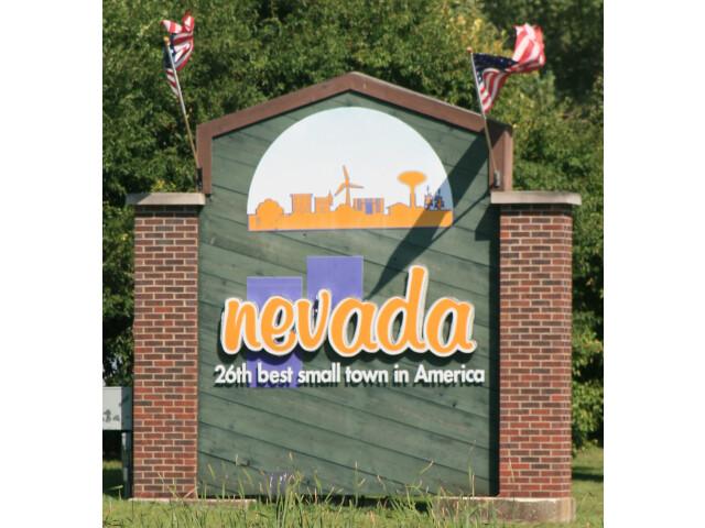 Nevada Iowa 20090816 Welcome Sign image