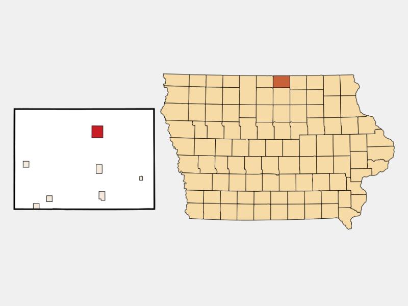 Northwood locator map
