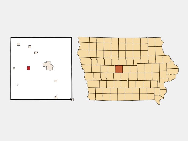 Ogden location map
