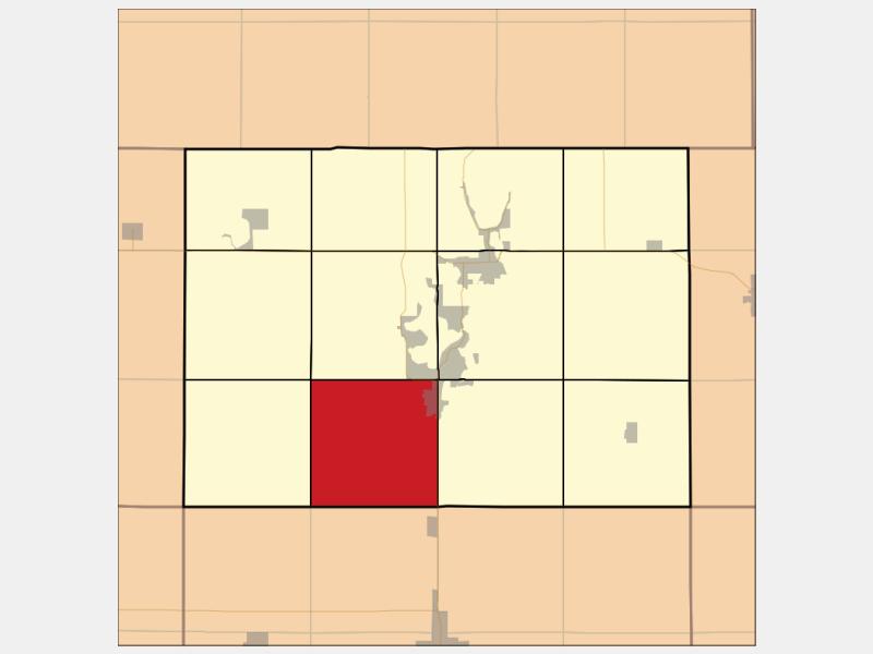 Okoboji locator map
