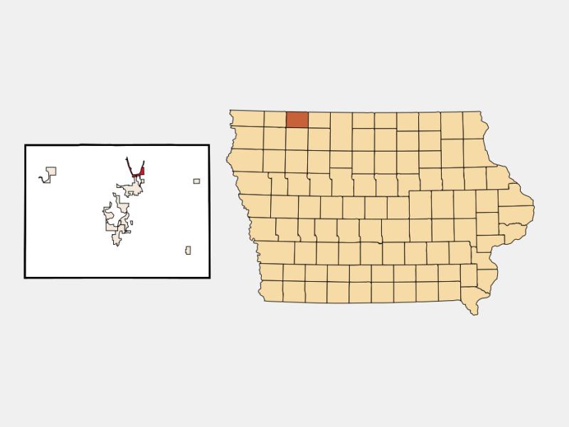 Orleans locator map