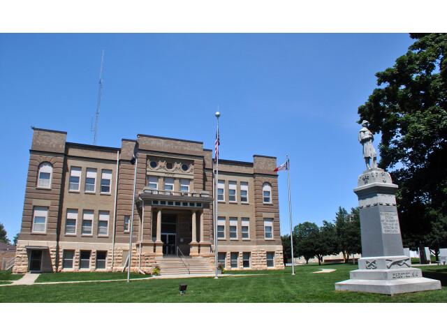 Osceola County Courthouse 'Iowa' image