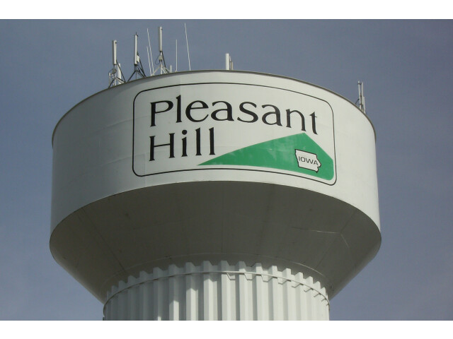 Pleasant Hill water tower image