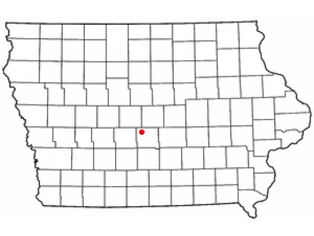 Polk City locator map