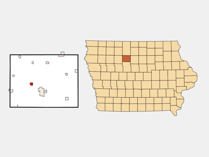 Rutland locator map