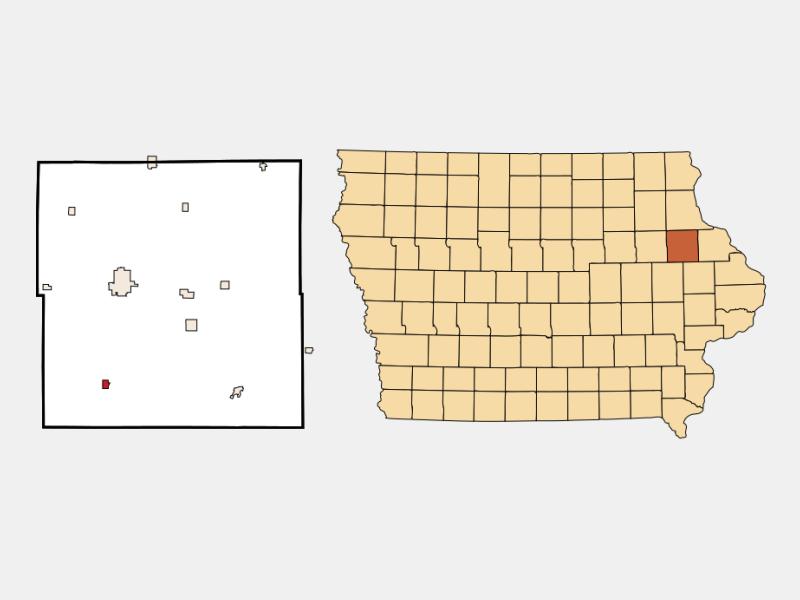 Ryan location map