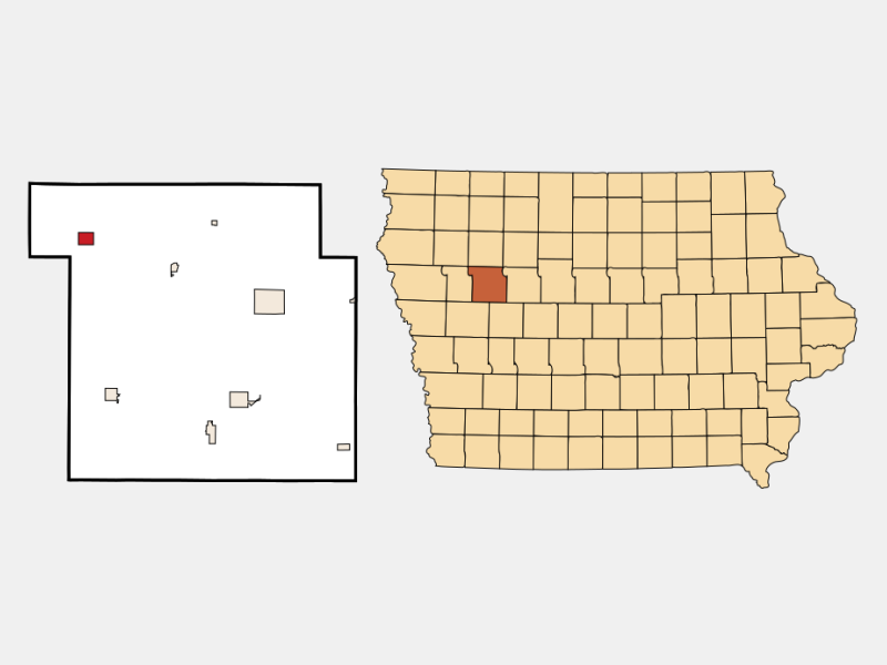 Schaller location map