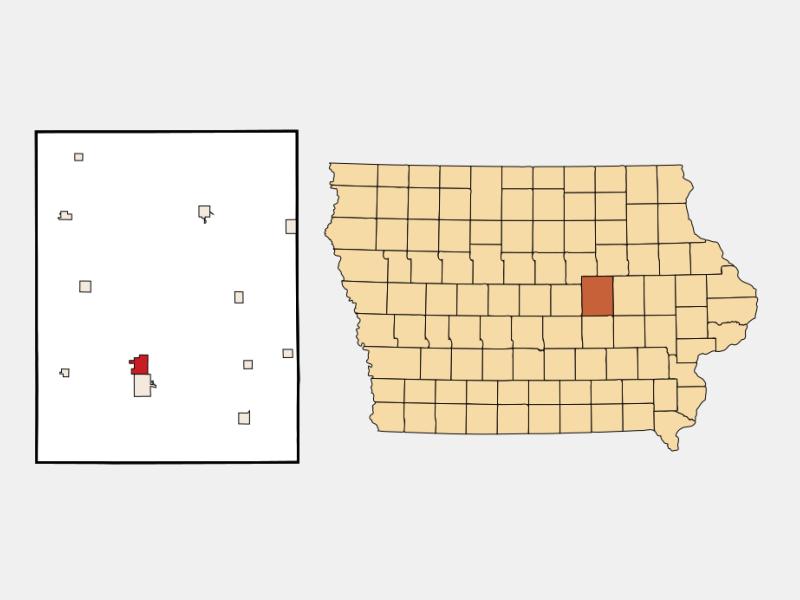 Toledo locator map