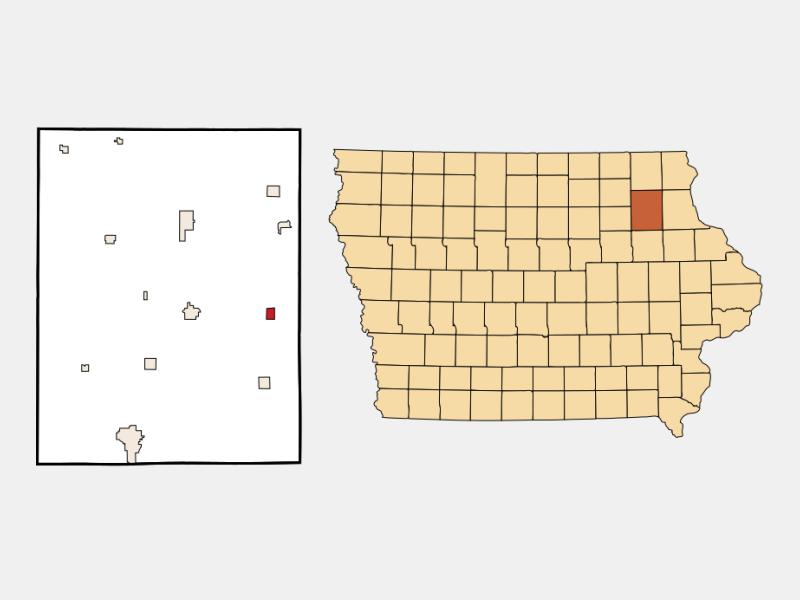 Wadena locator map