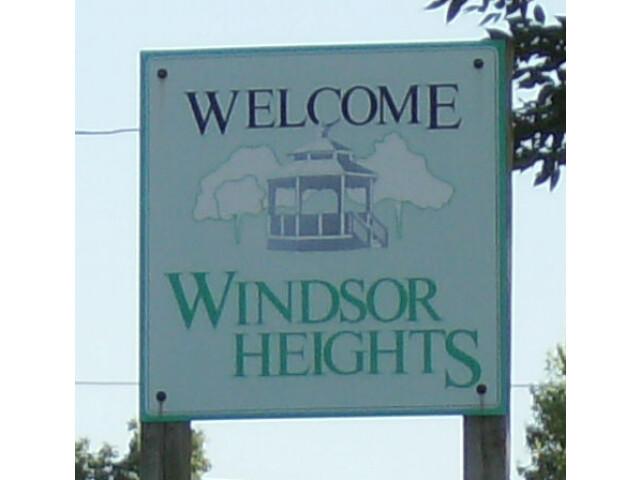 Windsor Heights sign image