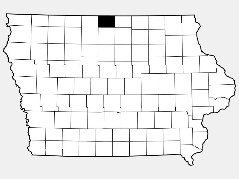 Winnebago County location map