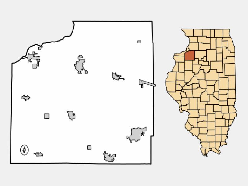 Alpha locator map
